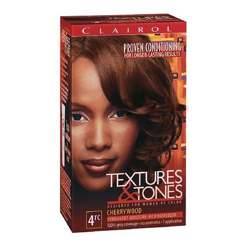 CLAIROL TEXTURED & TONES PERMANENT HAIR COLOR