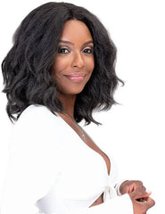 JANET COLLECTION NATURAL ME LACE WIG JODE - Textured Tech