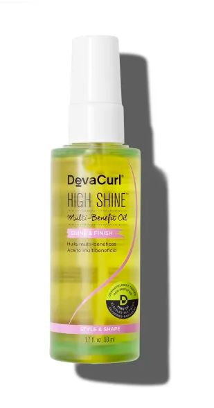 DEVA CURL HIGH SHINE MULTI BENEFIT OIL 1.7oz