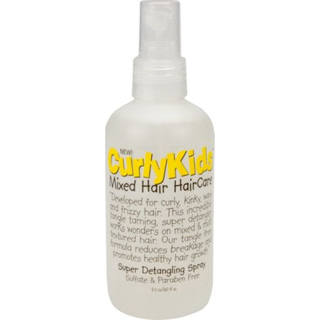 Curlykids Sup Detangle Spray 6 oz - Textured Tech