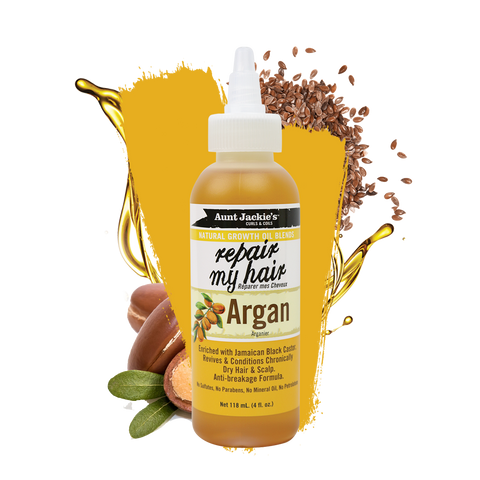 AUNT JACKIES 'REPAIR MY HAIR' ARGAN OIL - Textured Tech