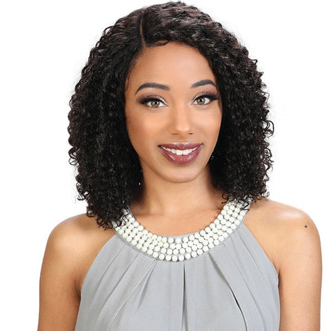 Zury Sis 100% Brazilian Virgin Remy Human Lace Front Wig - HRH BRZ LACE TERRA - Textured Tech