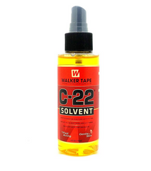 Walker Tape C22 Solvent 4Oz Spray For Lace Wigs & Toupees - Textured Tech