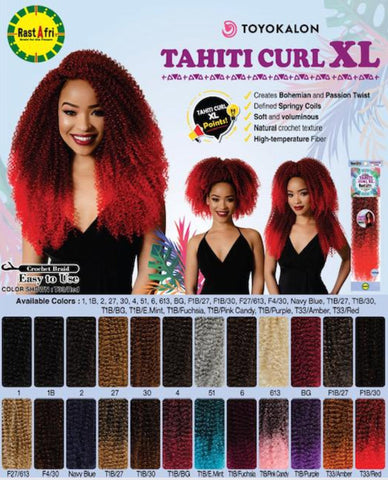 RAST A FRI TAHITI CURL XL - Textured Tech