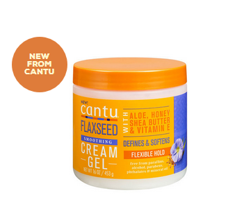 CANTU FLAXSEED SMOOTHING CREAM GEL - Textured Tech