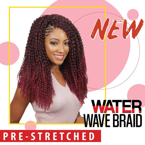 "WATER WAVE 3x Eve Hair 22"" - Textured Tech"