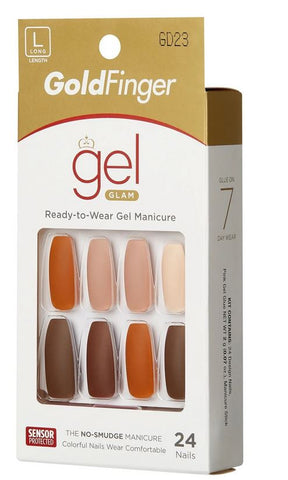 GOLDFINGER GEL GLAM NAIL - Textured Tech