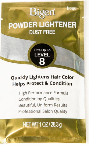 BIGEN POWDER LIGHTENER-DUST FREE - Textured Tech
