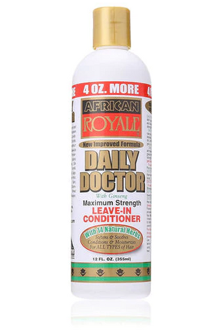 AFRICAN ROYALE DAILY DOCTOR LEAVE IN CONDITIONER 12 OZ - Textured Tech