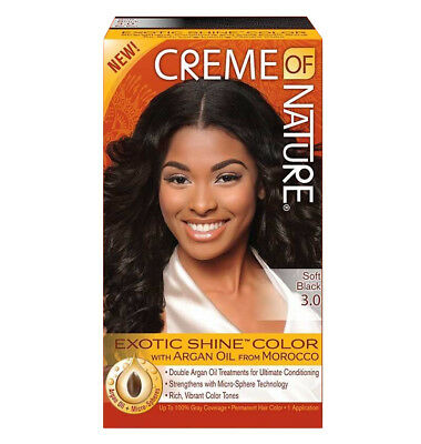 CREME OF NATURE EXOTIC SHINE COLOR - Textured Tech