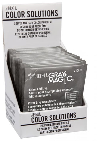 ARDELL COLOR SOLUTIONS GRAY MAGIC (SINGLE PACK) 0.125 OZ - Textured Tech