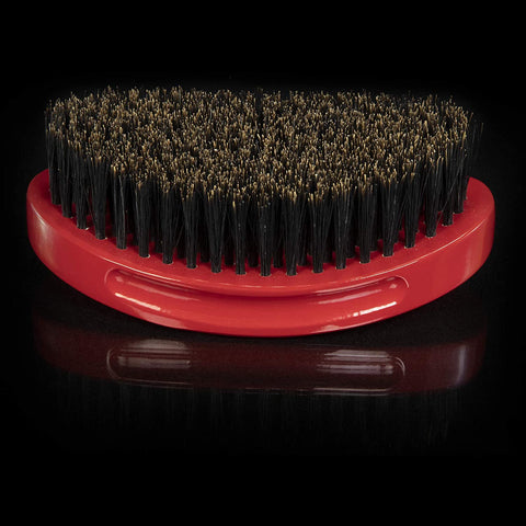 Torino Pro Wave Brush #690-Curved Medium palm 360 Waves Hair Brush - Textured Tech