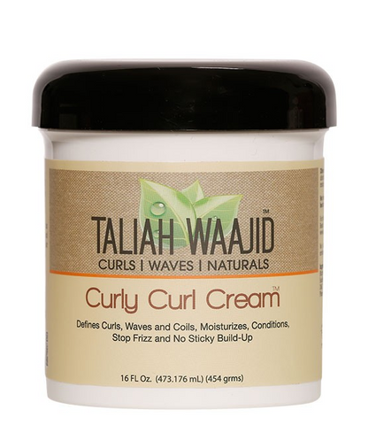 TALIAH WAAJID CURLY CURL CREAM 16oz - Textured Tech