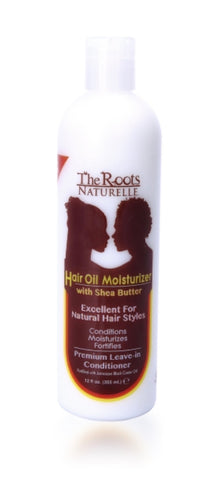 ROOTS SHEA BUTTER HAIR OIL MOISTURIZER 12OZ