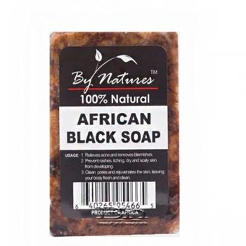 Natures African Black Soap 6 oz Reg Scent - Textured Tech