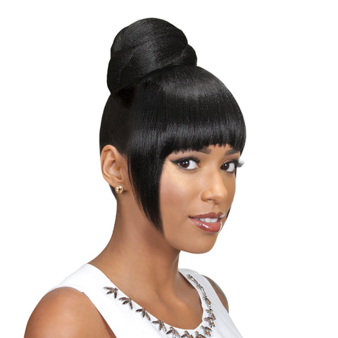 EVE HAIR CASABLANCA FRINGE BUN 2IN1 FB-PORA - Textured Tech