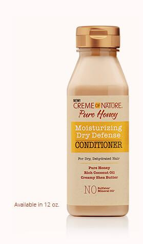 CREME OF NATURE PURE HONEY MOISTURIZING DRY DEFENSE CONDITIONER - Textured Tech