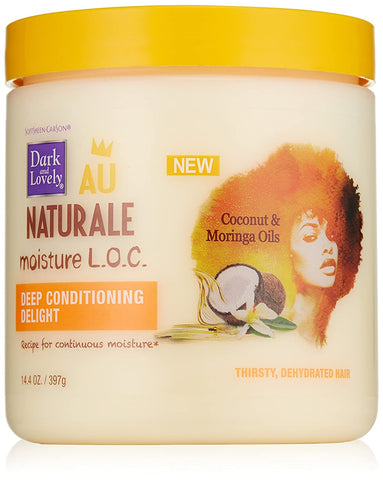 DARK & LOVELY AU NATURAL LOC DEEP CONDITIONER 14.4OZ - Textured Tech