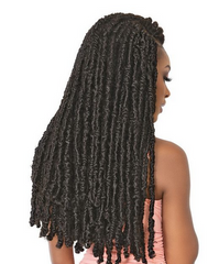 "JANET COLLECTION NALA POETRY LOCS (#BUTTERFLY LOCS) 24"" - Textured Tech"