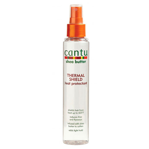 Cantu SHEA BUTTER THERMAL SHIELD HEAT PROTECTANT 5 oz - Textured Tech