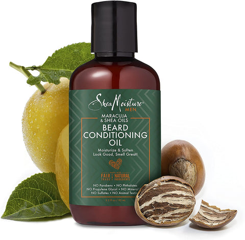 SHEA MOISTURE MENS BEARD CONDITIONING OIL 3.2OZ - Textured Tech