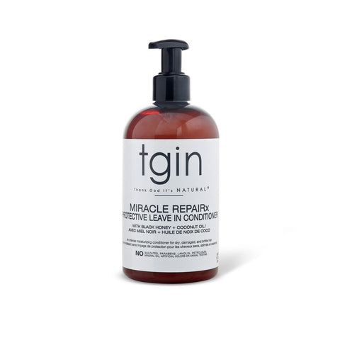 TGIN MIRACLE REPAIRx PROTECTIVE LEAVE IN CONDITIONER - Textured Tech