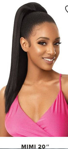 "Outre Pretty Quick Ponytail MIMI 20"" - Textured Tech"