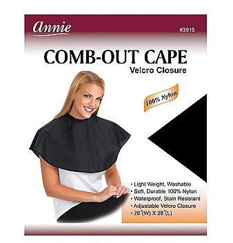 ANNIE COMB OUT CAPE - Textured Tech