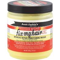 Aunt Jackie's Curls & Coils Flaxseed Recipes Fix My Hair Intensive Repair Conditioning Masque (15 oz.) - Textured Tech