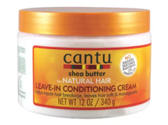 CANTU SHEA BUTTER LEAVE IN CONDITIONING CREAM 12OZ - Textured Tech