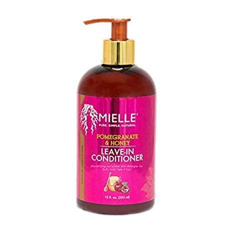 Mielle Pomegranate & Honey Leave In Conditioner 12oz - Textured Tech