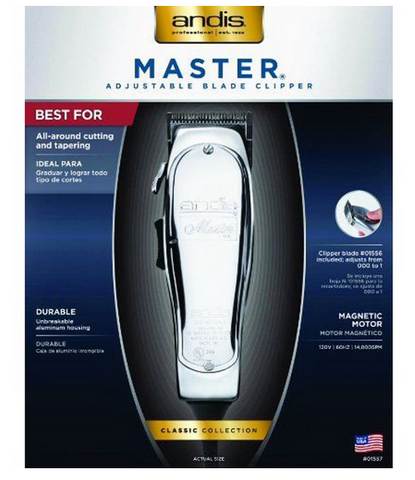 ANDIS CLIPPER IMPROVED MASTER REG - Textured Tech