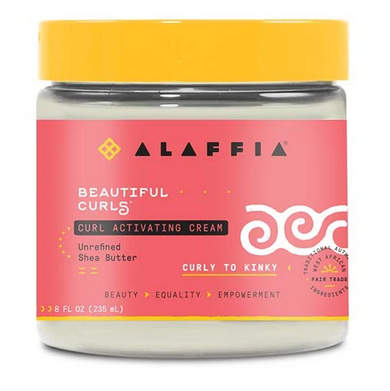 ALAFFIA BEAUTIFUL CURLS CURL ACTIVATING CREAM 8OZ