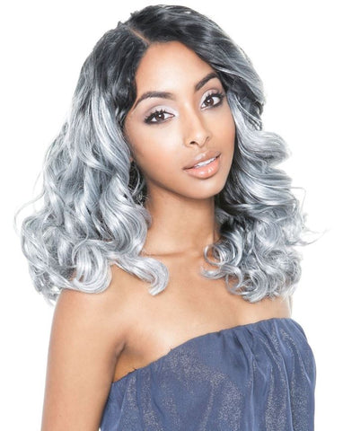 "BRAZILIAN OMBRE SYNTHETIC BLEND ""ROMANCE CURL"" 4PC - Textured Tech"