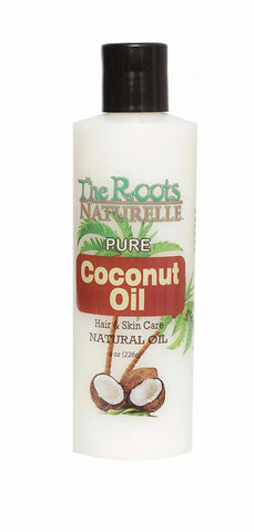 ROOTS NATURELLE PURE COCONUT OIL 8OZ - Textured Tech