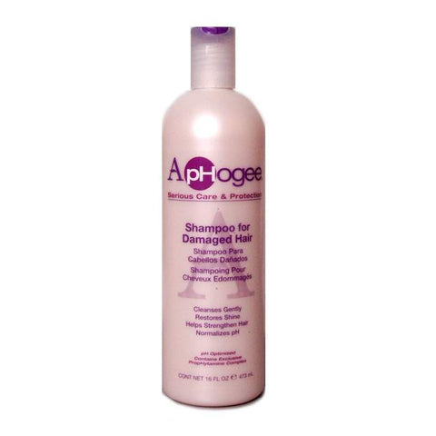 APHOGEE SHAMPOO DAMAGED 16 OZ - Textured Tech