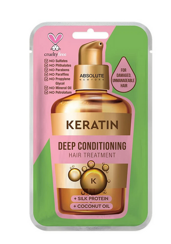 ABSOLUTE NEW YORK KERATIN DEEP CONDITIONING HAIR TREATMENT - Textured Tech