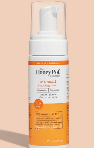 The Honey Pot Normal  Foaming Wash 5.51 oz - Textured Tech