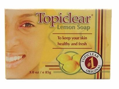 TOPICLEAR LEMON SOAP - Textured Tech