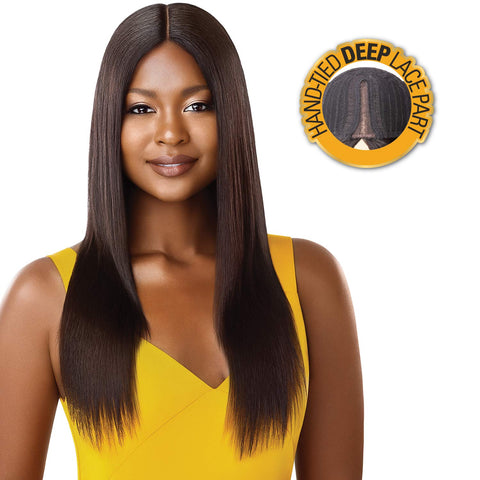 "THE DAILY WIG STRAIGHT V-CUT 22"" - Textured Tech"