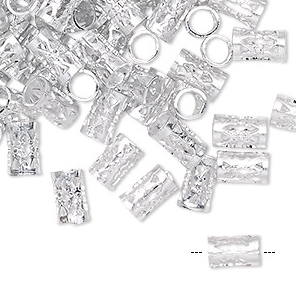 Silver Braid Charm Accessories (long) (34 pieces)
