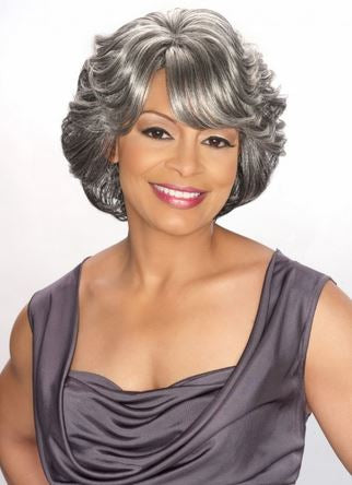 FOXY SILVER WIG COLLECTION LACE WIG CECE - Textured Tech