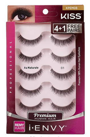 IENVY PREMIUM HUMAN HAIR LASHES 5 PACK - Textured Tech