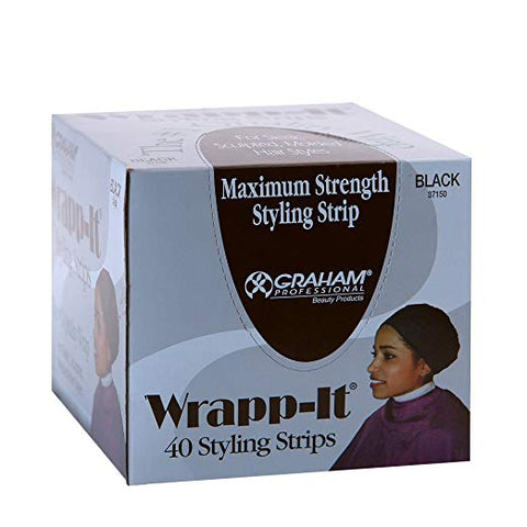 GRAHAM BEAUTY WRAPP IT STYLING STRIPS 40 PC - Textured Tech