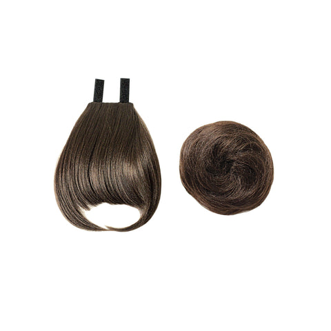 EVE HAIR CASABLANCA FRINGE BUN 2IN1 FB-BELL - Textured Tech