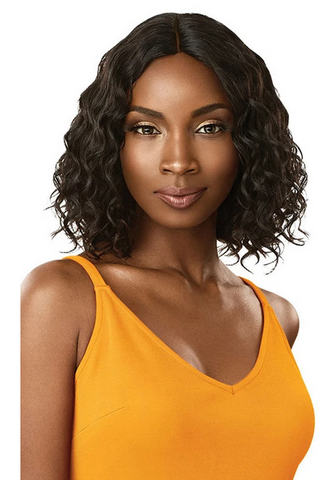 "THE DAILY WIG 12"" CURLY BOB #NATURAL BLACK - Textured Tech"