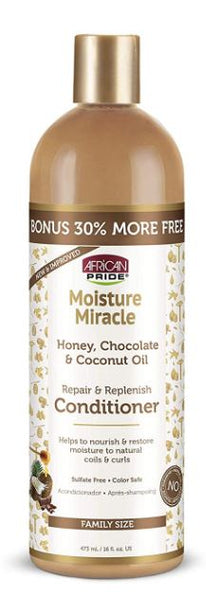 AFRICAN PRIDE MOISTURE MIRACLE CONDITIONER  BONUS