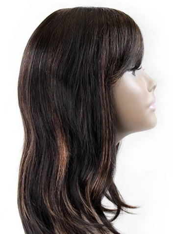 INDIAN REMY 100% HUMAN VIRGIN REMY WIG HW-INDIAN-01 - Textured Tech