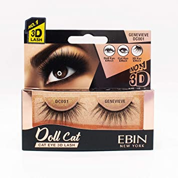 DOLL CAT 3D LASHES (CHOOSE STYLE) - Textured Tech
