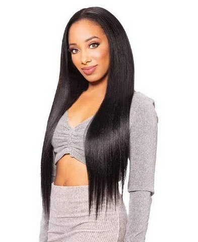 "Zury Silk Pressed Natural Dream Clip-On 7-PCS 24"" - Textured Tech"